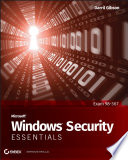 Microsoft Windows Security Essentials Book