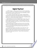 Test Prep Level 5  Bigfoot  Big Hoax  Comprehension and Critical Thinking Book