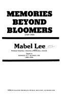 Memories Beyond Bloomers  1924 1954