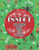 Insect Coloring Book For Adults