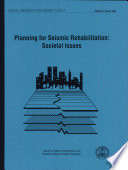 Planning for Seismic Rehabilitation