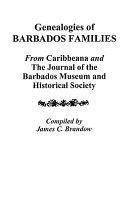 Genealogies of Barbados Families Pdf/ePub eBook