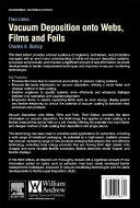 Vacuum Deposition Onto Webs  Films and Foils