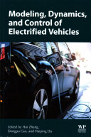 Modelling  Dynamics and Control of Electrified Vehicles