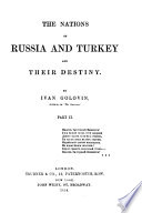 The Nations Of Russia And Turkey And Their Destiny