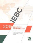 2015 International Existing Building Code Commentary Book