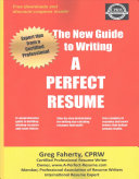 The New Guide to Writing a Perfect Resume