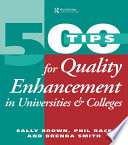 500 Tips for Quality Enhancement in Universities and Colleges Book
