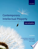 """""""Contemporary Intellectual Property: Law and Policy"""" by Charlotte Waelde, Graeme Laurie, Abbe Brown, Smita Kheria, Jane Cornwell"""