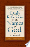 Daily Reflections on the Names of God Book