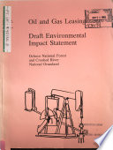 Ochoco National Forest  N F   and Crooked River National Grassland  Oil and Gas Leasing Analysis