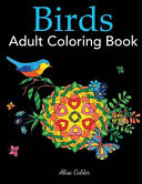 Birds Adult Coloring Book