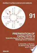 Preparation Of Catalysts Vi Book PDF