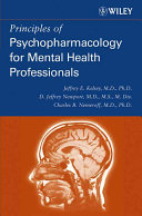 Principles of Psychopharmacology for Mental Health Professionals Book