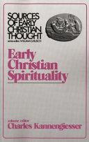 Early Christian Spirituality