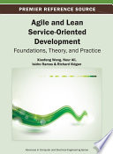 Agile And Lean Service Oriented Development Foundations Theory And Practice Book PDF