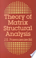 Theory of Matrix Structural Analysis Book