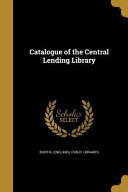 Catalogue Of The Central Lendi