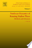 Nonlinear Dynamics of Rotating Shallow Water: Methods and Advances