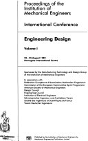 International Conference  Engineering Design Book PDF