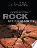 Fundamentals of Rock Mechanics Book