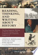Reading Thinking And Writing About History
