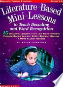 Literature Based Mini Lessons Book PDF