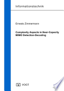 Complexity Aspects in Near Capacity MIMO Detection Decoding