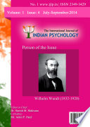 The International Journal Of Indian Psychology Volume 1 Issue 4 No 1