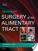 Shackelford s Surgery of the Alimentary Tract  E Book Book