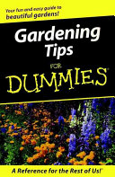 Gardening Tips for Dummies Book PDF