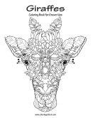 Giraffes Coloring Book for Grown-Ups 1