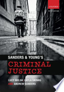 Sanders And Young S Criminal Justice