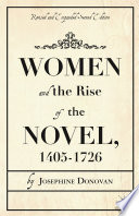 Women and the Rise of the Novel  1405 1726
