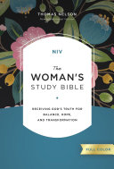 Pdf NIV, The Woman's Study Bible, Full-Color, Ebook Telecharger