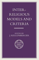 Inter Religious Models and Criteria