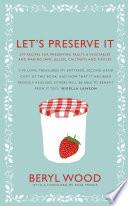 Let s Preserve It