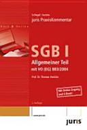 juris PraxisKommentar SGB / juris Praxiskommentar SGB I