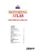 Rac Motoring Atlas: Great Britain & Ireland