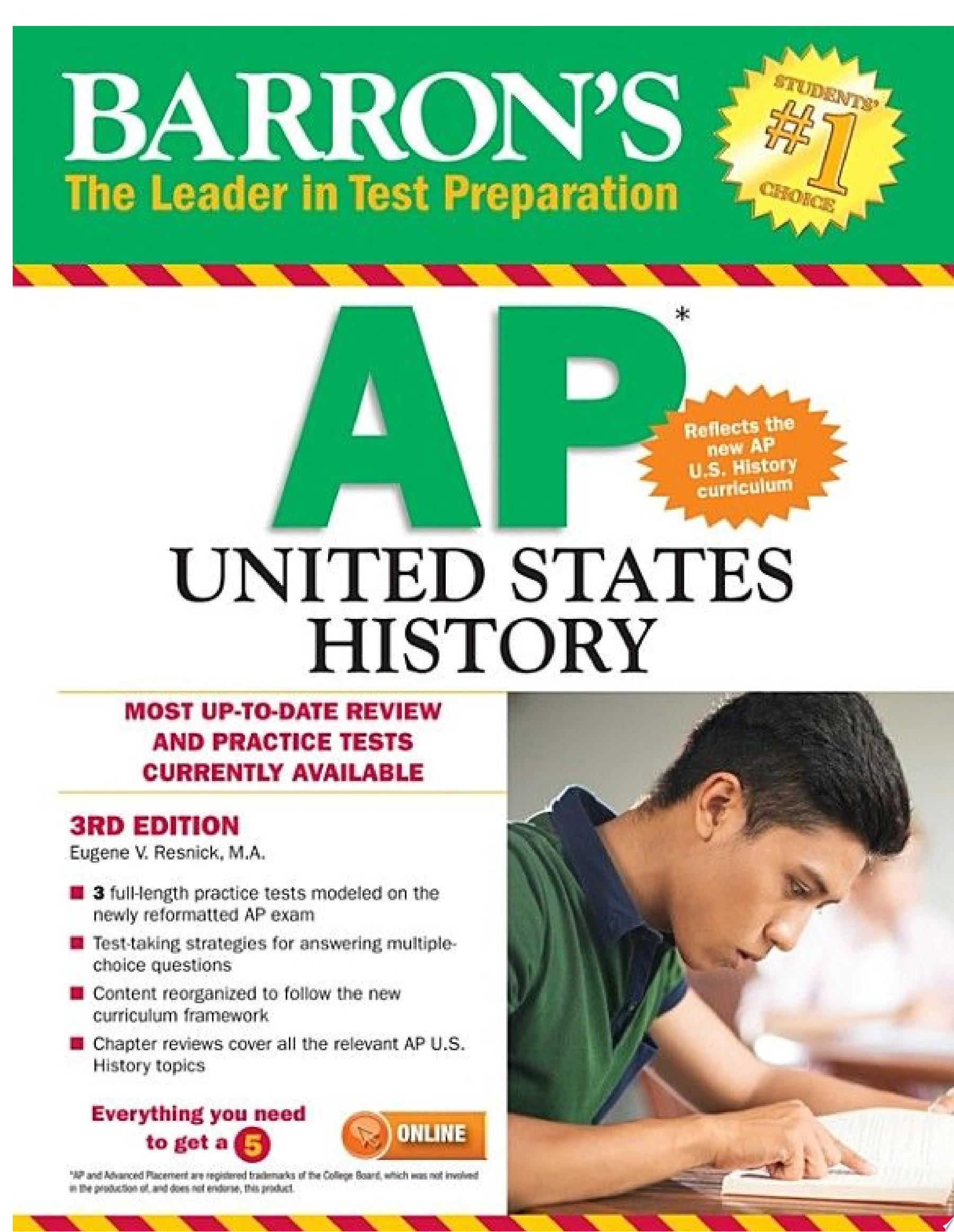 Barron s AP United States History  3rd edition