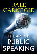 Pdf The Art of Public Speaking Telecharger