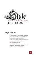 Style Pdf/ePub eBook