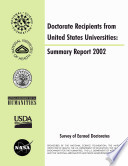 Summary report     doctorate recipients from United States universities