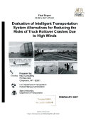 Evaluation of Intelligent Transportation System Alternatives for Reducing the Risks of Truck Rollover Crashes Due to High Winds