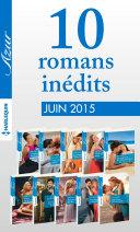 10 romans inédits Azur (no 3595 à 3604 - juin 2015)