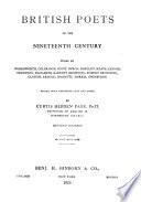 British Poets of the Nineteenth Century