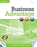 Business Advantage B2. Upper-Intermediate. Personal Study Book with Audio CD
