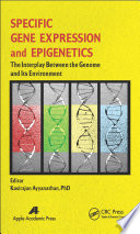 Specific Gene Expression And Epigenetics Book PDF