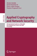 Applied Cryptography and Network Security [Pdf/ePub] eBook