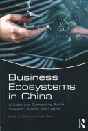 Business Ecosystems in China Book